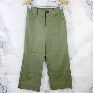 Zara High Waist Wide Leg Trouser Pant